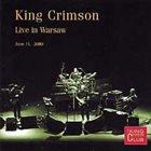 KING CRIMSON Warsaw, Poland, 2000 album cover