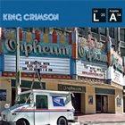 KING CRIMSON Live At The Orpheum album cover