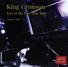 KING CRIMSON Live At The Pier, NYC, 1982 album cover