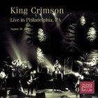 KING CRIMSON Live In Philadelphia, PA, 1996 album cover