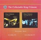 KING CRIMSON The Collectable King Crimson Vol. 1 album cover