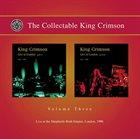 KING CRIMSON The Collectable King Crimson Vol. 3 album cover