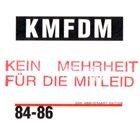 KMFDM 84-86 album cover