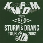 KMFDM Sturm & Drang Tour 2002 album cover