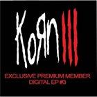 KORN Digital EP #3 album cover
