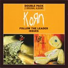 KORN Follow the Leader / Issues album cover