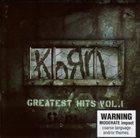 KORN Greatest Hits, Volume 1 album cover