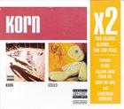 KORN Korn / Issues album cover