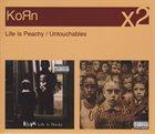 KORN Life is Peachy / Untouchables album cover