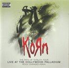 KORN Live at the Hollywood Palladium album cover