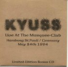KYUSS Live At The Marquee Club album cover