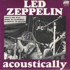 LED ZEPPELIN Acoustically album cover
