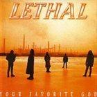 LETHAL Your Favorite God album cover