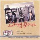 LIVING COLOUR Instant Live album cover