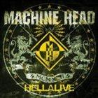 MACHINE HEAD Hellalive album cover
