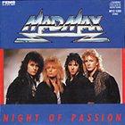MAD MAX Night of Passion album cover
