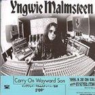 YNGWIE J. MALMSTEEN Carry on Wayward Son album cover