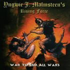 YNGWIE J. MALMSTEEN War to End All Wars album cover