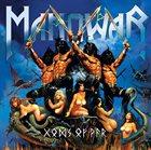MANOWAR Gods of War album cover