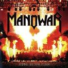 MANOWAR Gods of War Live album cover