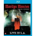 MARILYN MANSON — Guns, God And Government Live In L.A. album cover