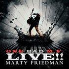 MARTY FRIEDMAN One Bad M.F. Live!! album cover
