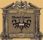 MASTER'S HAMMER Ritual / Jilemnicky Okultista album cover