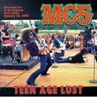 MC5 Teen Age Lust album cover