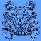 MEGA BLUE STALLION Lazer Eyez album cover