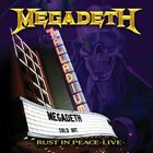 MEGADETH Rust In Peace Live album cover