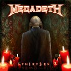 MEGADETH TH1RT3EN album cover