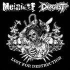 MEINHOF Lust For Destruction album cover