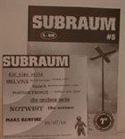 MELVINS Subraum album cover