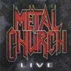 METAL CHURCH Live album cover