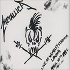 METALLICA Live at Wembley Stadium EP album cover