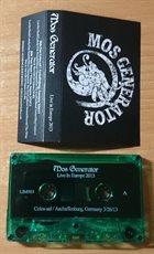 MOS GENERATOR Live in Europe 2013 album cover