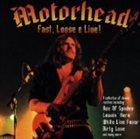 MOTÖRHEAD Fast, Loose & Live! album cover