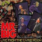 MR. BIG Live From The Living Room album cover