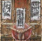 NAPALM DEATH Death by Manipulation album cover