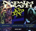 NAPALM DEATH Diatribes / Greed Killing / Bootlegged In Japan album cover