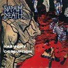 NAPALM DEATH Harmony Corruption album cover
