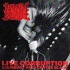 NAPALM DEATH Live Corruption album cover