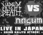 NASUM Live in Japan - Grind Kaijyu Attack! album cover