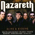 NAZARETH Alive & Kicking album cover