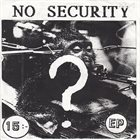 NO SECURITY 40-Talisterna album cover