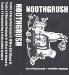 NOOTHGRUSH Live At Fiesta Grande # 4 And Other Disasters album cover