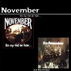 NOVEMBER En ny tid ar har / 2 : a November album cover