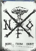 NUKE FROM ORBIT Restart The Fucking Planet album cover