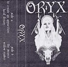 ORYX Oryx album cover