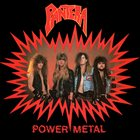 PANTERA Power Metal album cover